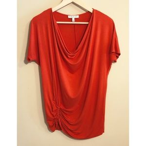 Chaus NY Red Blouse, Large